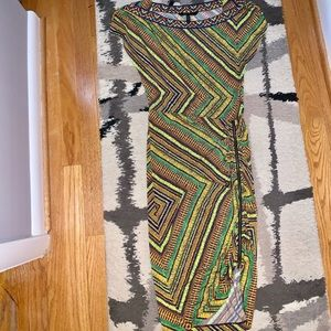 bcbg midi right dress
